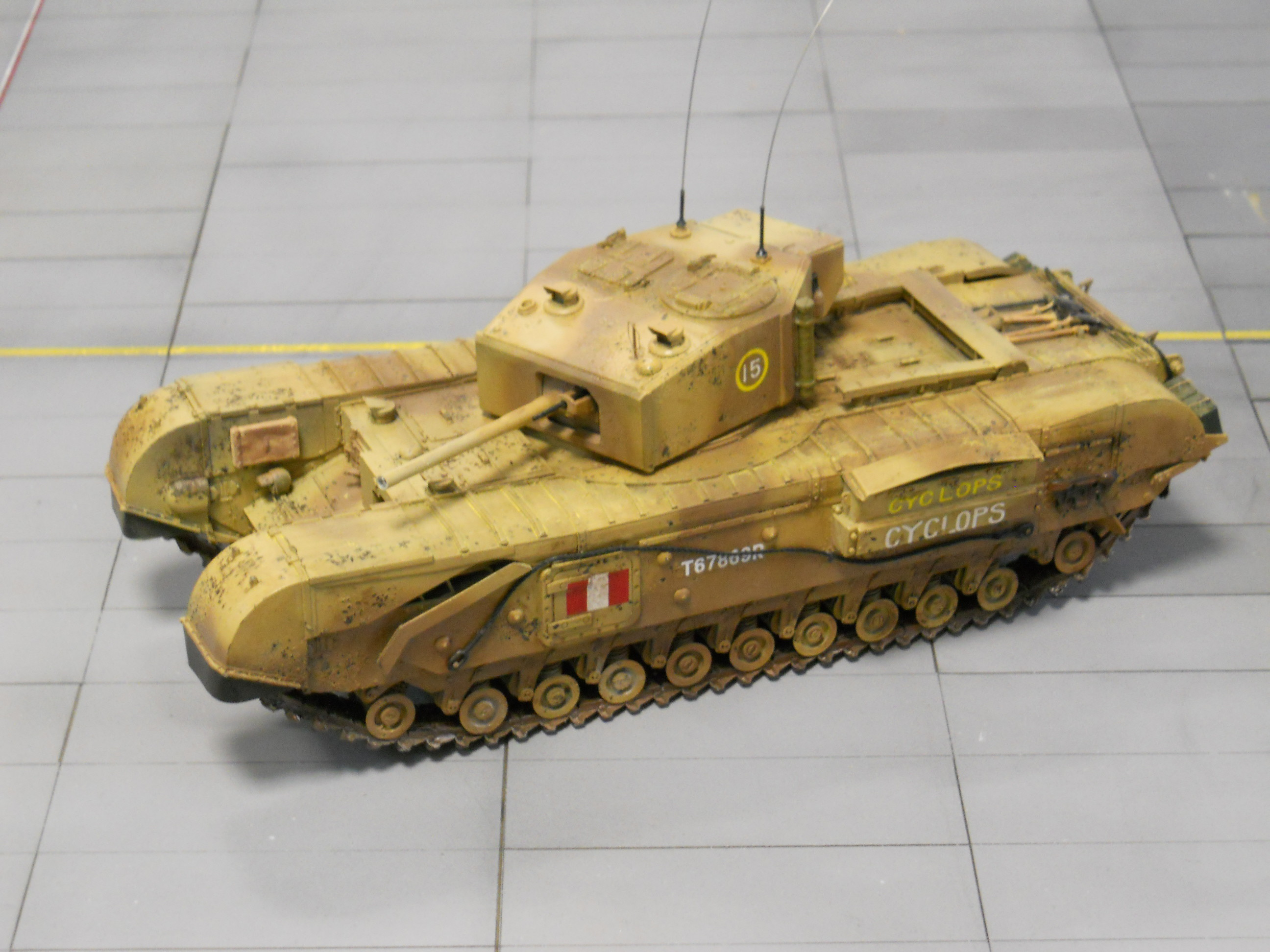 Churchill MK III churchill, модель танка, танк, черчилль