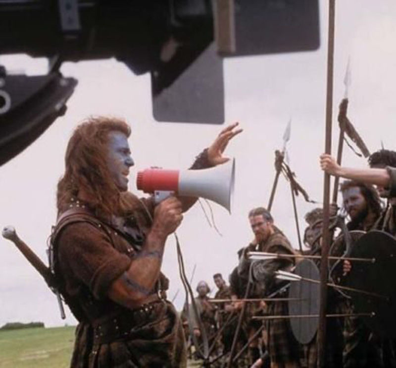 an analysis of the movie braveheart directed by mel gibson The director, mel gibson braveheart (1995) that's a movie where mel gibson is present in analysis of the film the patriot 173 the patriot the american.