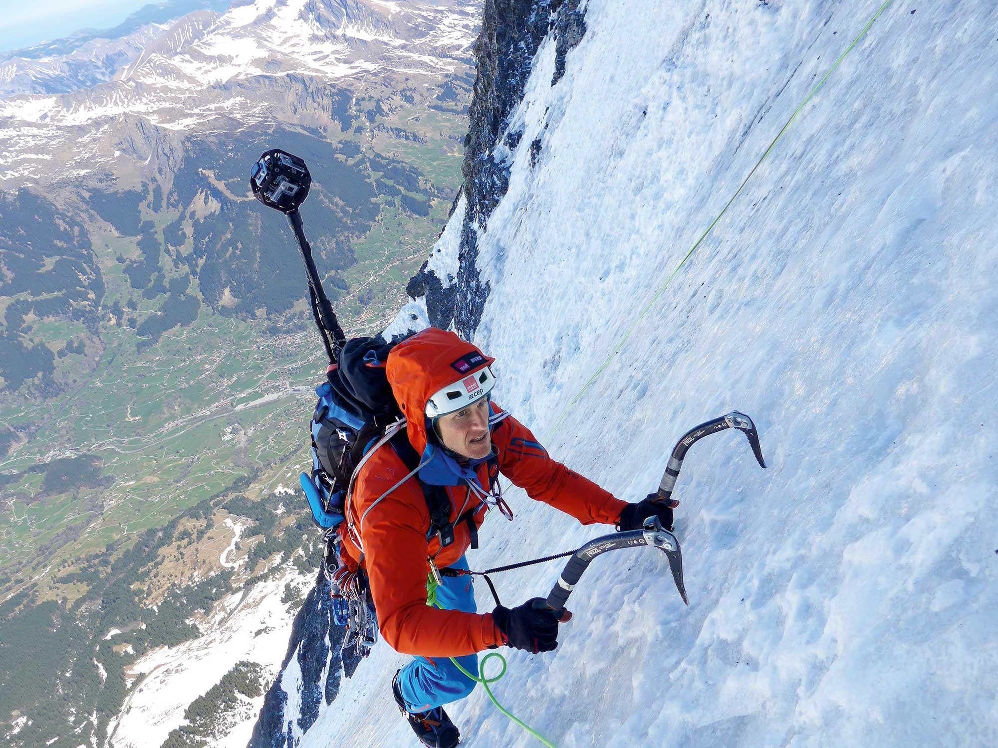 Картинки горы альпинист