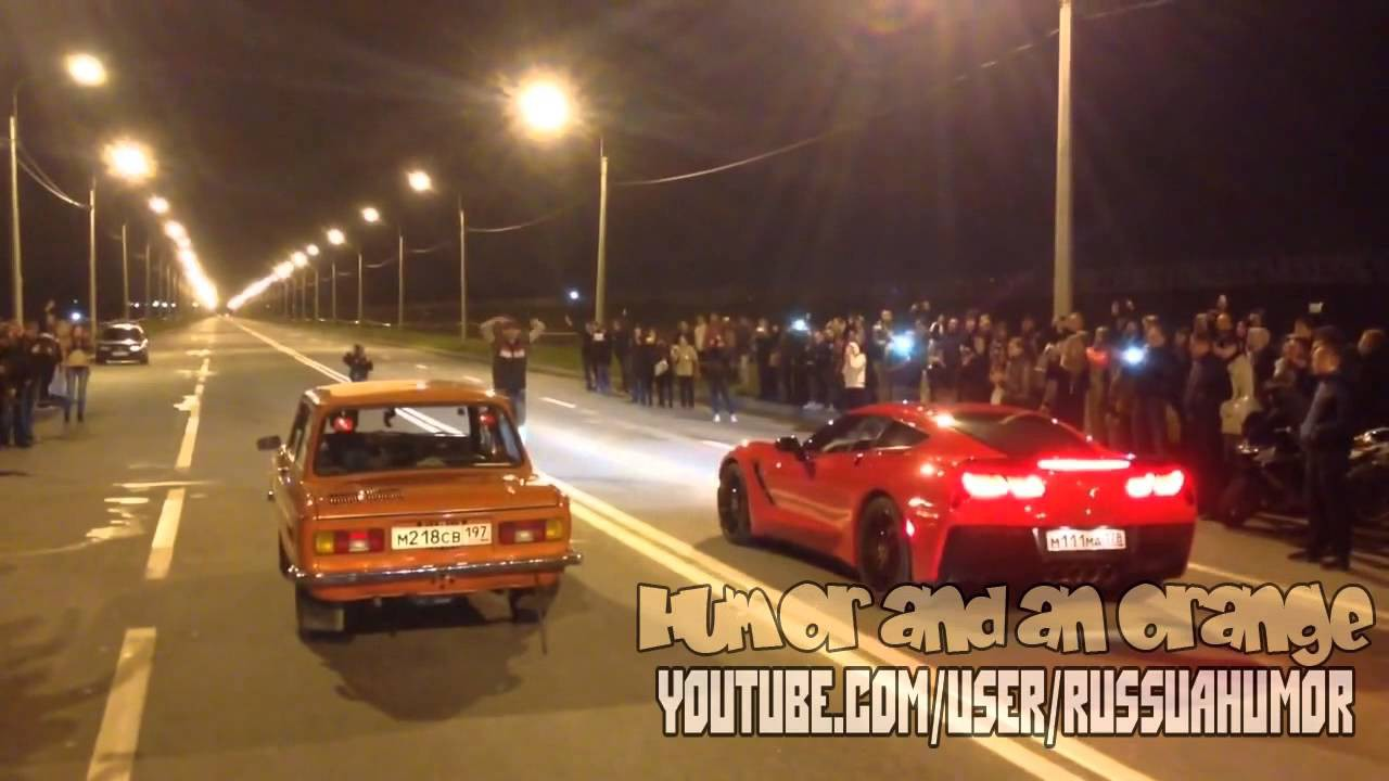 ЗАЗ 968 vs Corvette Stingray