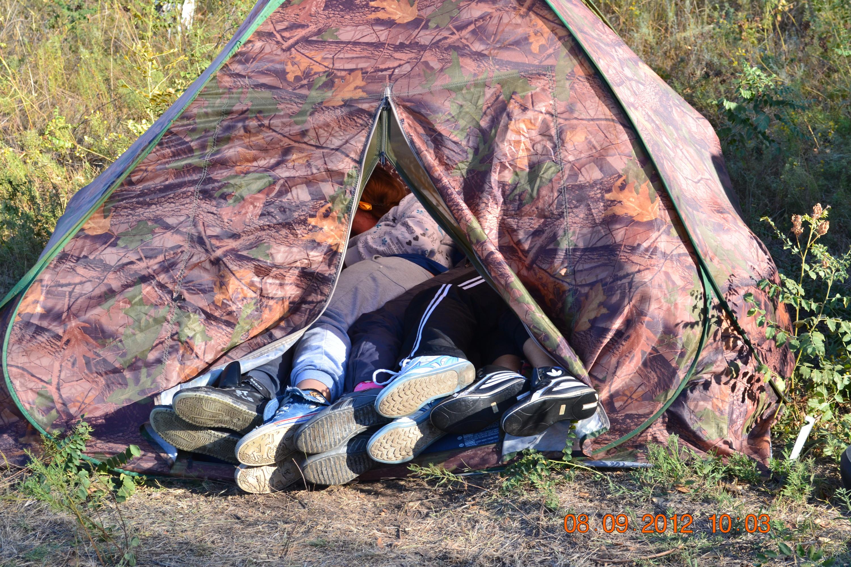 Прикольные картинки про палатку