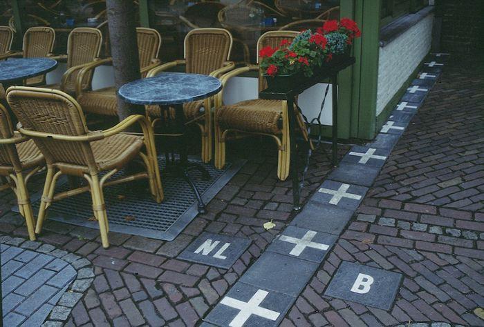 1. Бельгия и Голландия в мире, граница