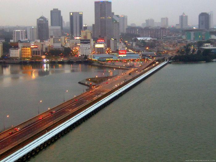 6. Малайзия и Сингапур в мире, граница