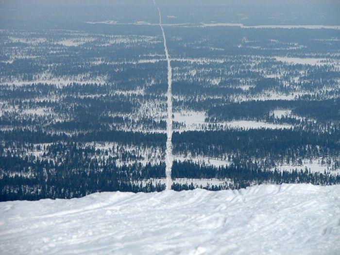 9. Норвегия и Швеция в мире, граница