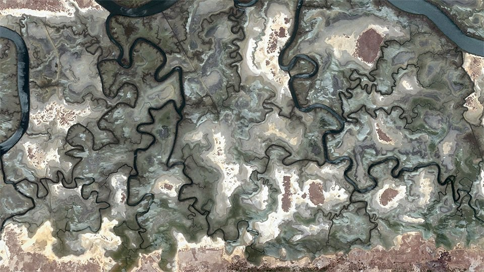 3. Сенегал google earth, земля, фото