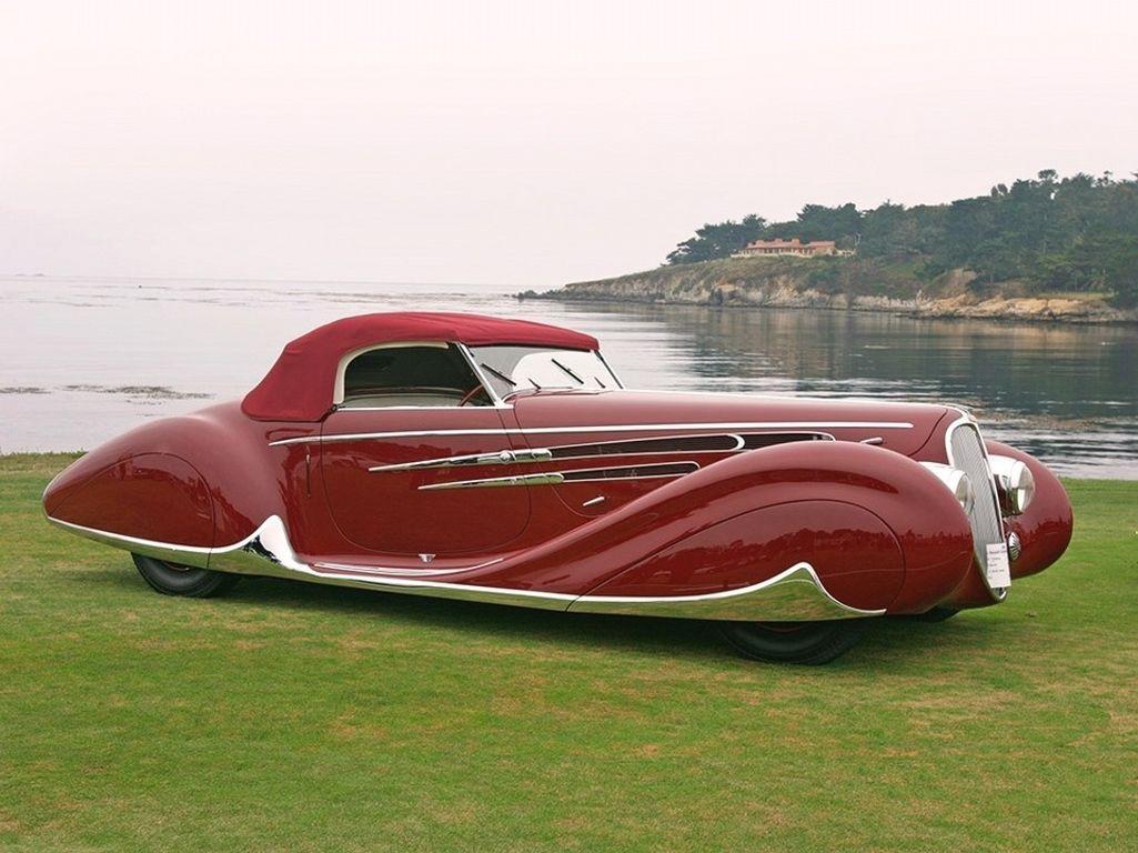 Delahaye - cамые красивые автомобили
