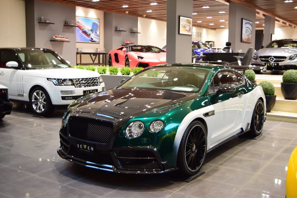 Bentley Continental GT Race от ателье Mansory Continental GT, bentley, mansory, авто, найдено на ebay, тюнинг