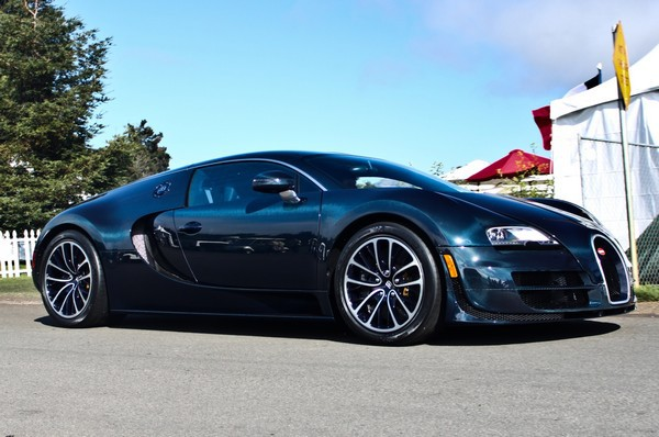 3. Bugatti Veyron Super Sports авто, факты