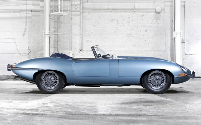 Jaguar E-Type Series 1 Roadster авто, автодизайн, кабриолет, олдтаймер, ретро автомобиль