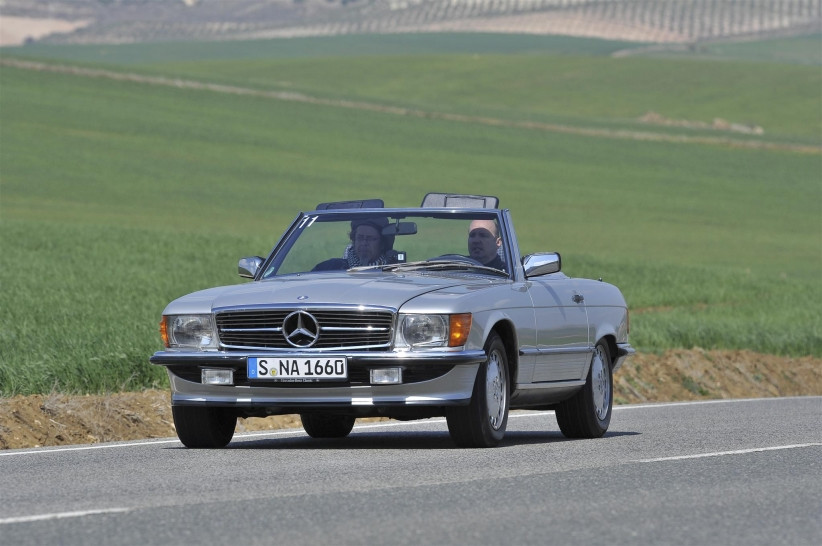 Mercedes-Benz SL (R107) авто, автодизайн, кабриолет, олдтаймер, ретро автомобиль