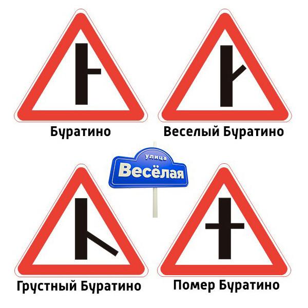Для женщин, приколы про дорожные знаки картинки