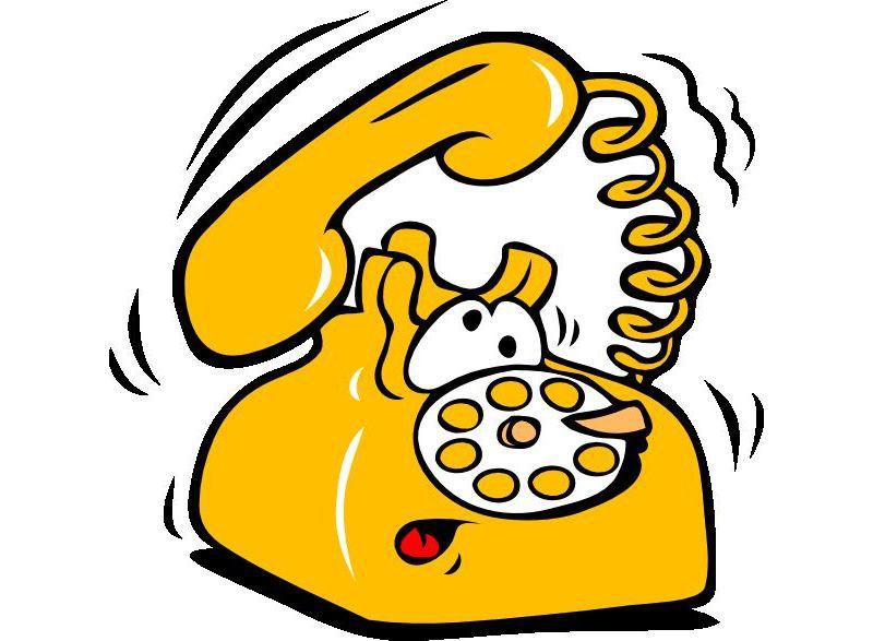 Прикольная картинка телефона