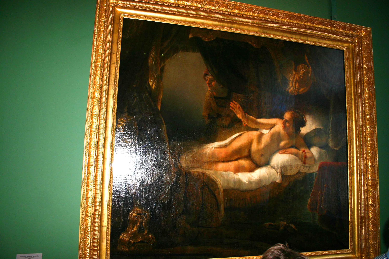 вот эгина рембрандт картина фото что-то следует написать