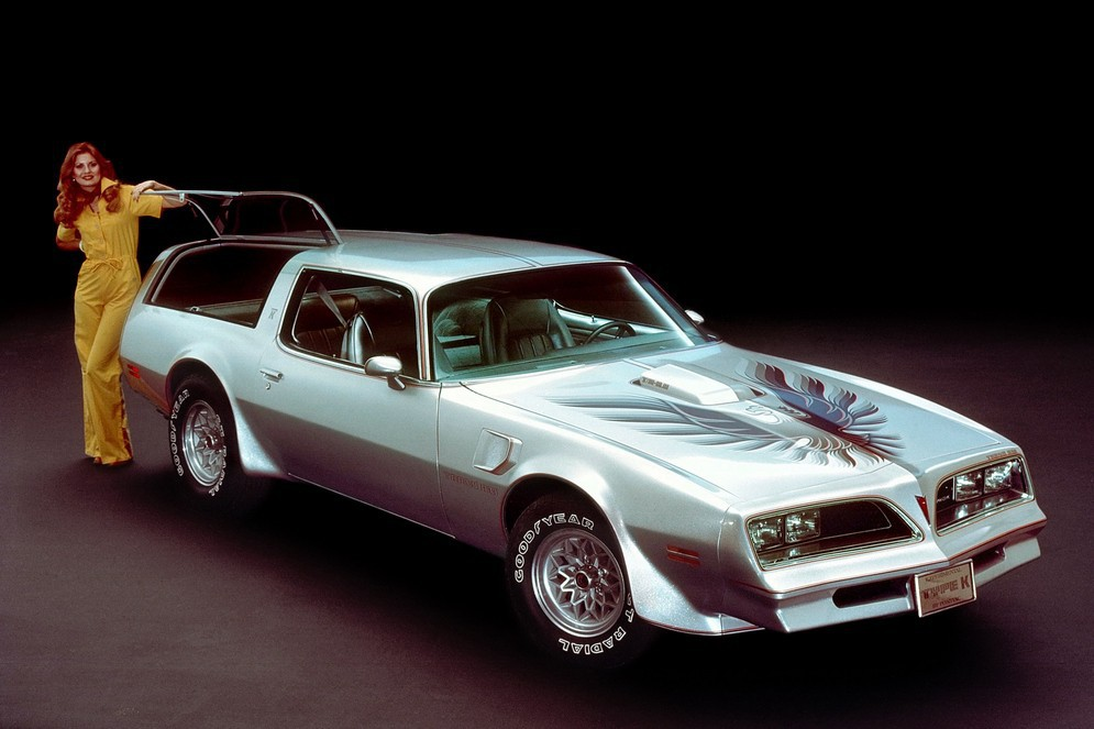 Pontiac Firebird Trans Am Type K  1977 год  авто, редкие автомобили, спорткар, универсал