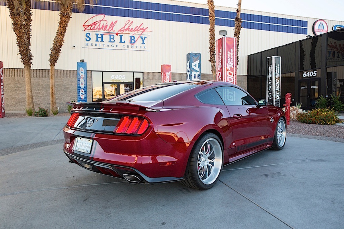 Компания Shelby представила новый Super Snake ford, shelby, super snake, тюнинг