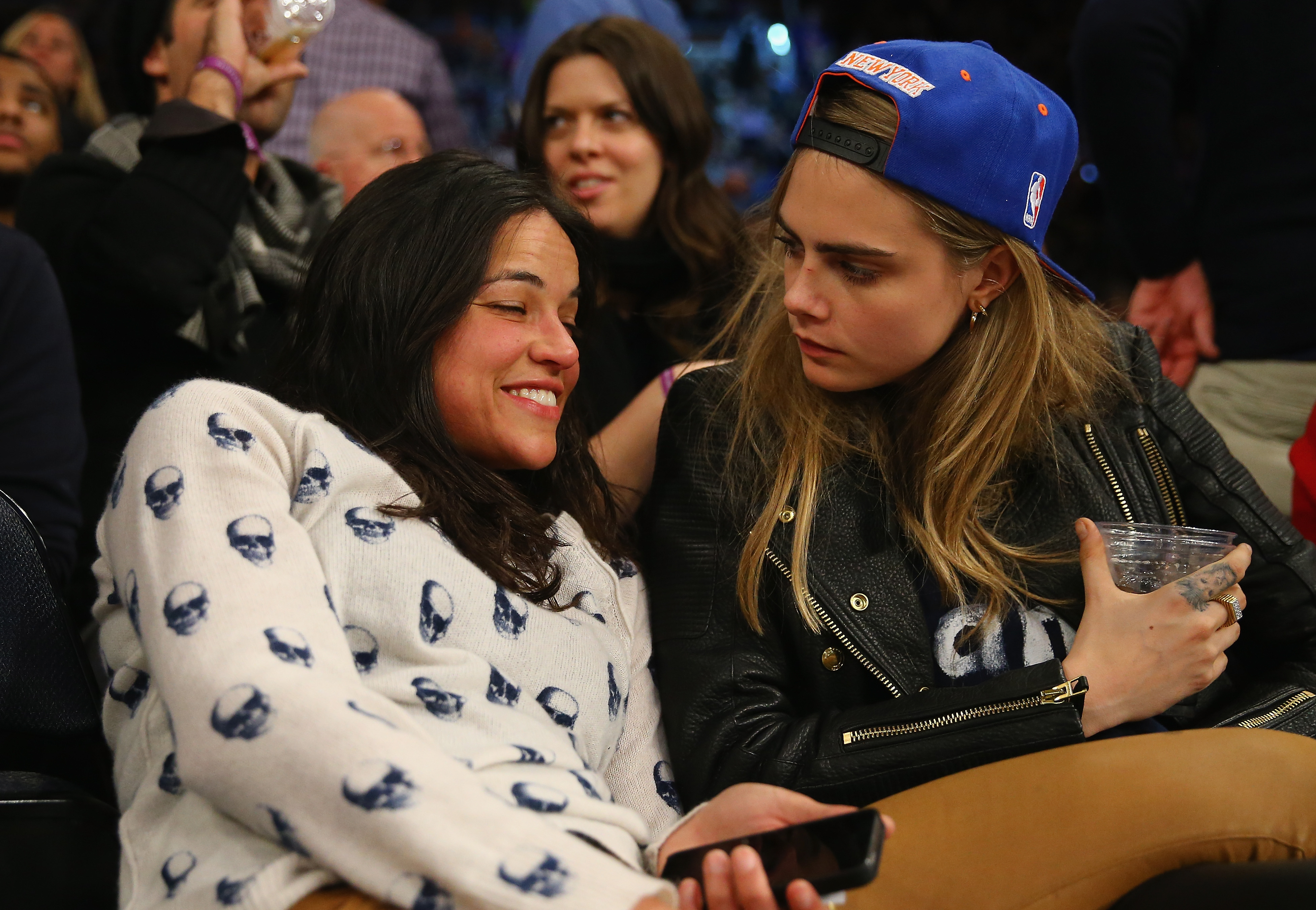 cara delevingne and michelle rodriguez - HD3906×2700
