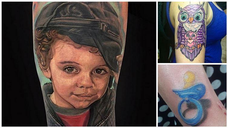 Дети и татуировки (фото) татуировки 20