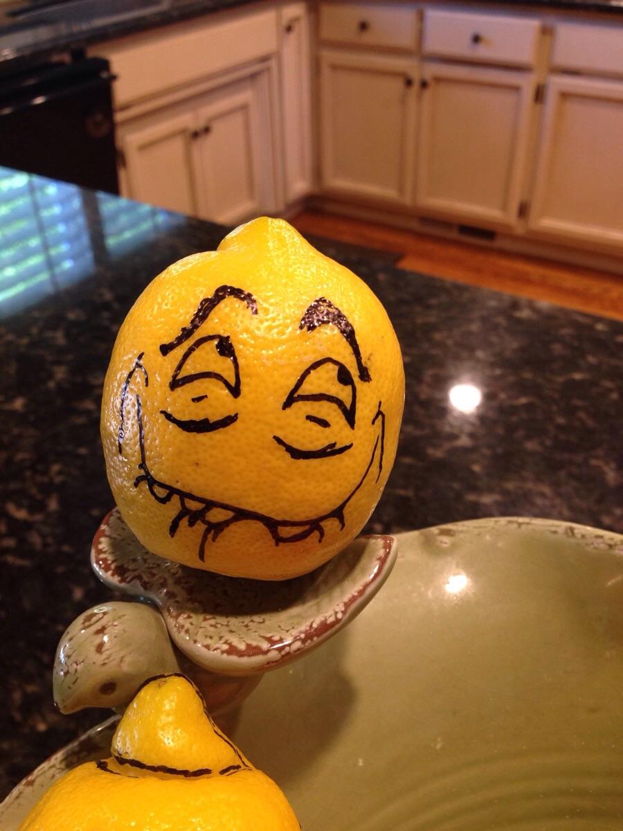 Лимон прикольный картинки