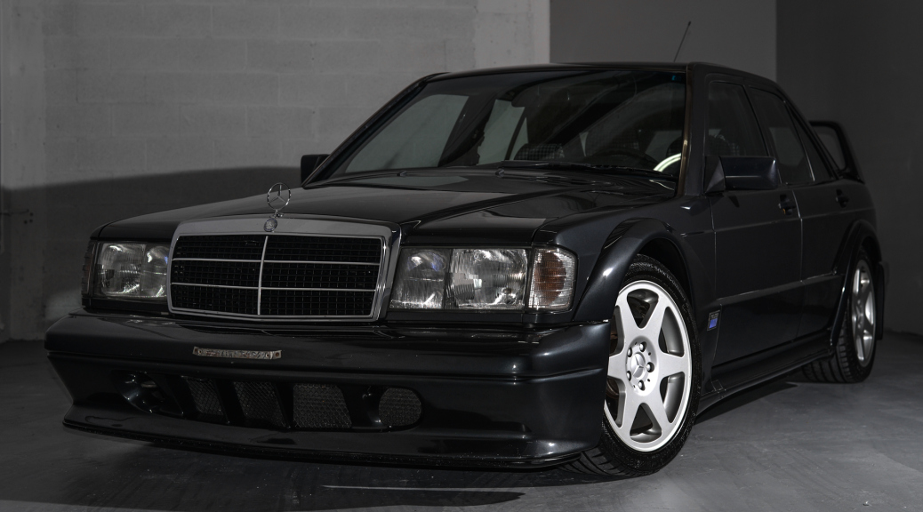25-летний Mercedes 190E Evolution II за 700 тыс. долларов