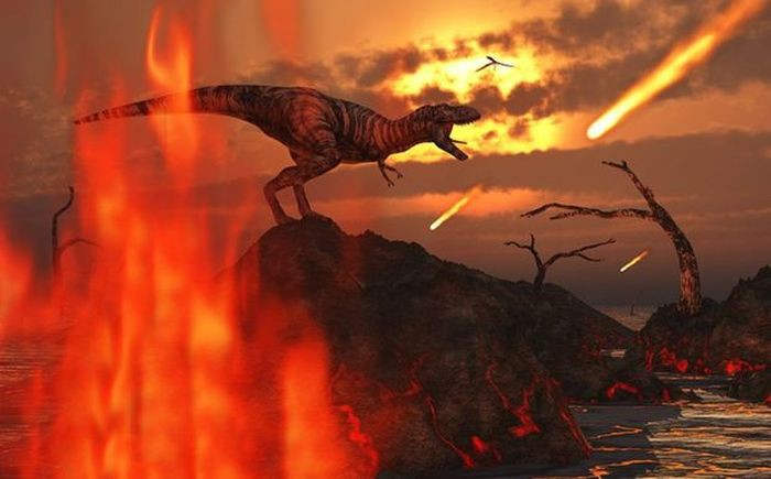 theories on the mass extinction of dinosaurs An artist's impression of the k/t meteor impact (nasa) we all know that dinosaurs vanished off the face of the earth 65 million years ago, a mass extinction that still lingers in the popular imagination how could creatures so huge, so fierce and so successful go down the drain virtually overnight, along with their cousin.