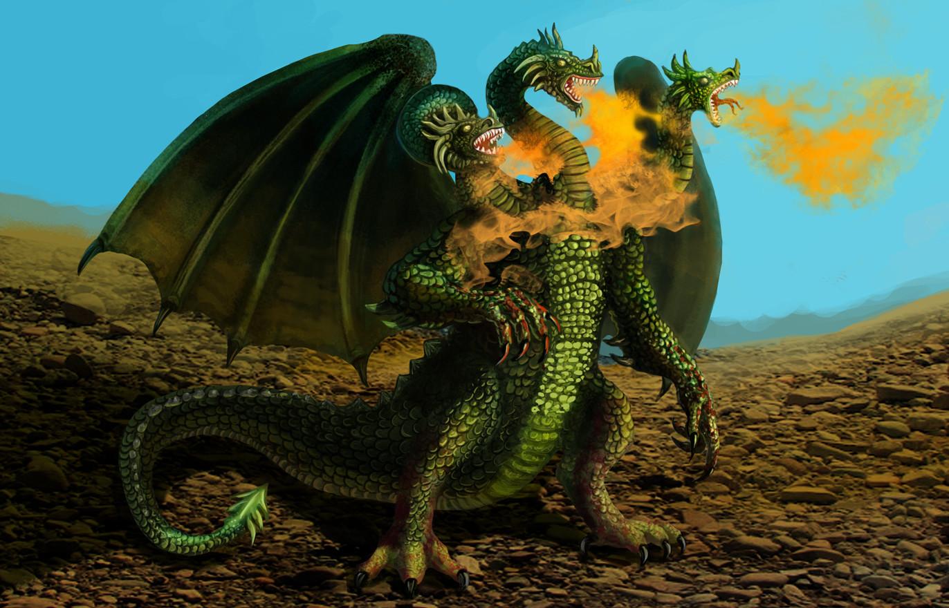 Русский дракон картинка