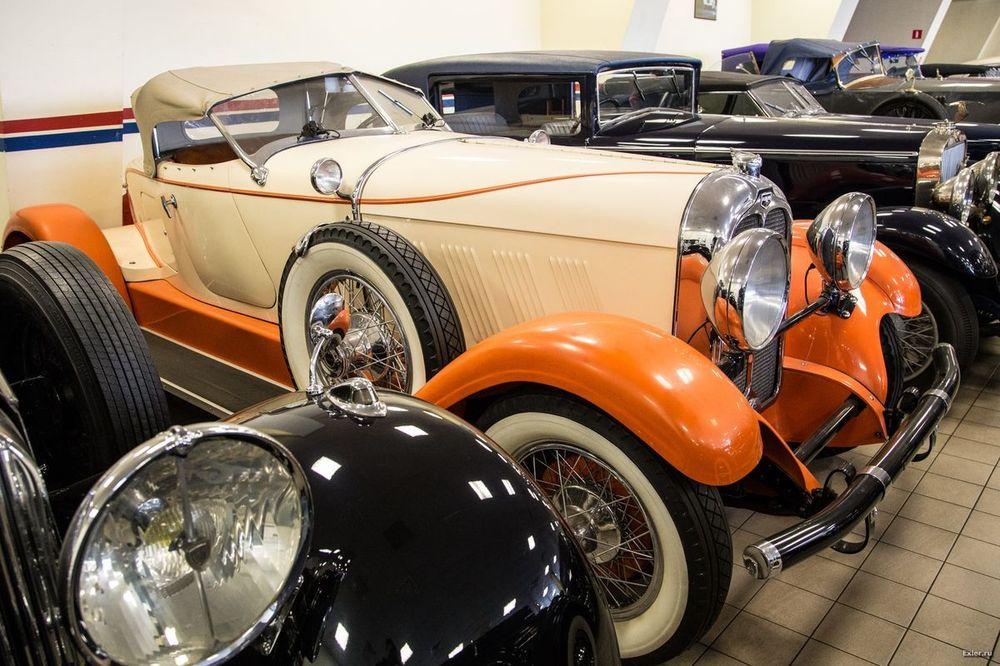 фото красивой коллекции авто просто