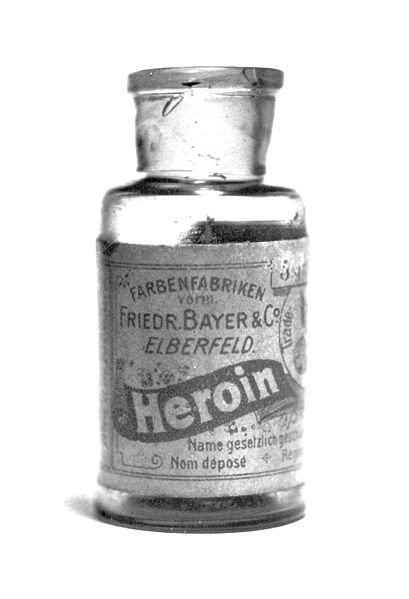 16. Медицинский героин, который продавала компания Bayer в 1890-х медицина, ретро, фото