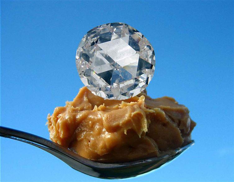 12. Геофизики придумали, как превращать арахисовое масло в алмазы интересное, факт