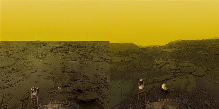 6. На Венере идет снег из металла, а именно - галенита и висмутина интересное, факт