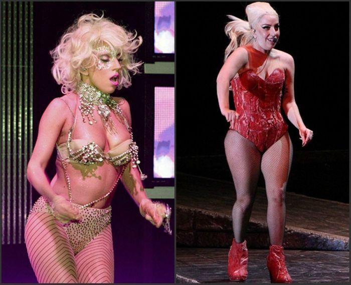 Леди Гага замужество, фигура