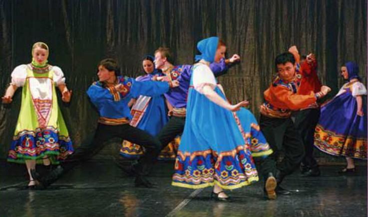 Схемы построений танцев
