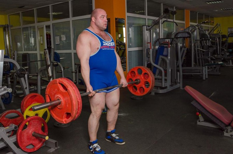 10. Олег Лившиц — 375 кг. россия, силачи, спорт, становая тяга