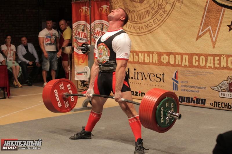 2. Константин Поздеев — 404 кг. россия, силачи, спорт, становая тяга