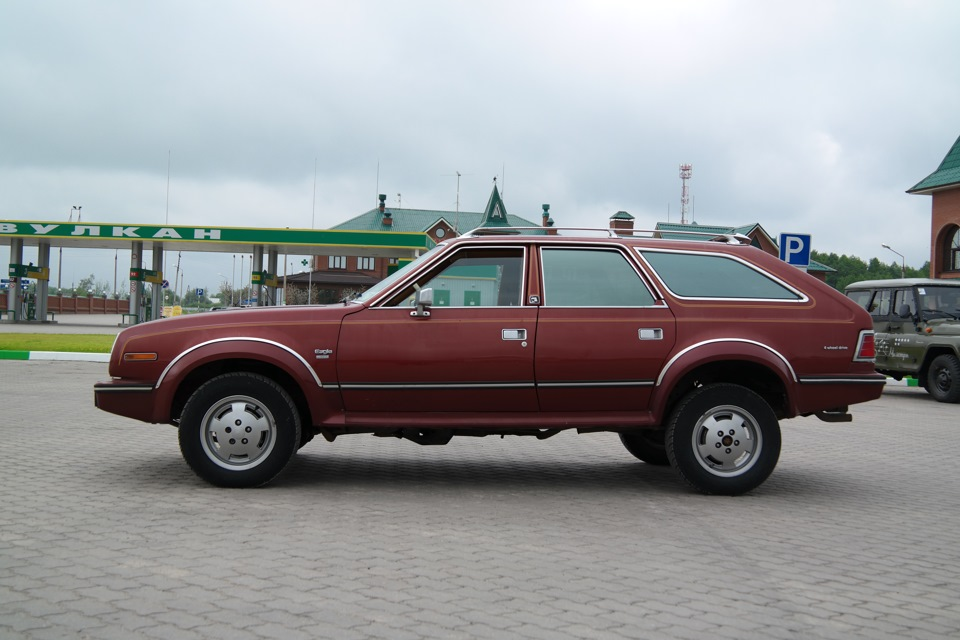 AMC Eagle 4WD Wagon 1987 года