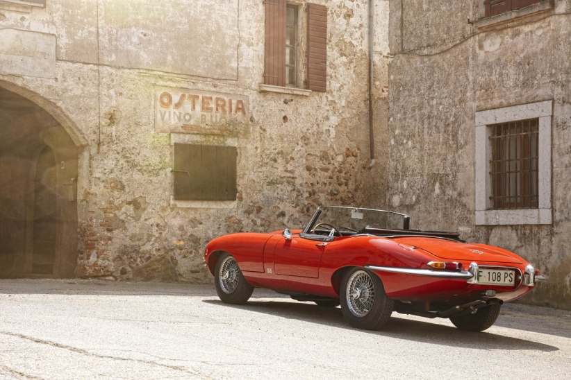 Jaguar E-Type convertible автодизайн, кабриолет