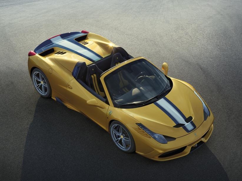 Ferrari 458 Speciale A автодизайн, кабриолет