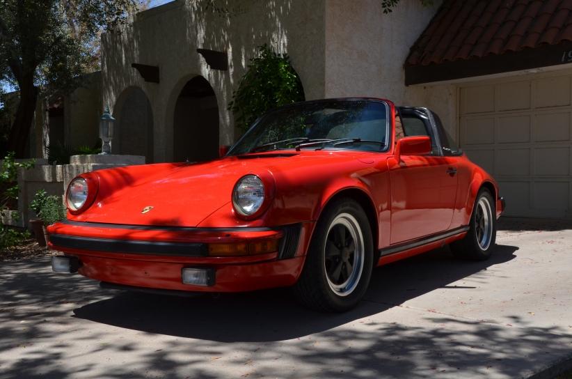 Porsche 911 Targa автодизайн, кабриолет