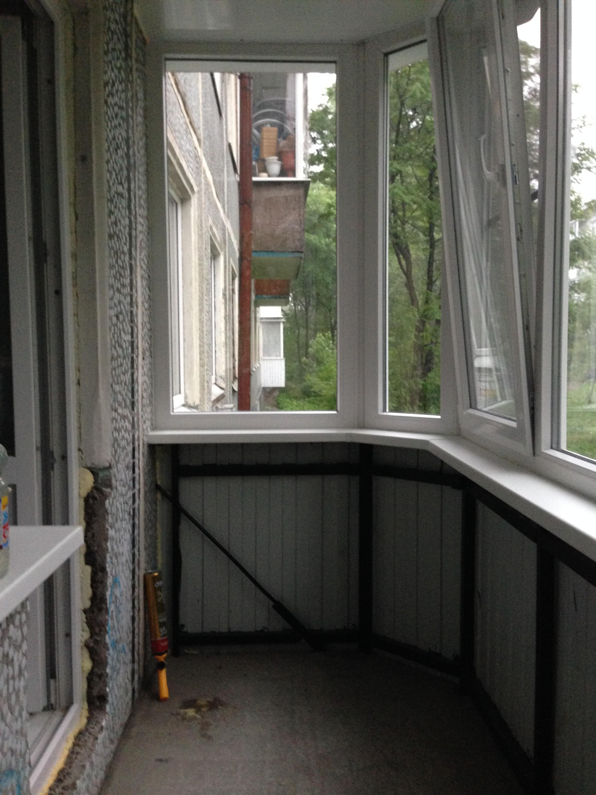 Как сделать балкон своими руками на первом этаже с чистого л.