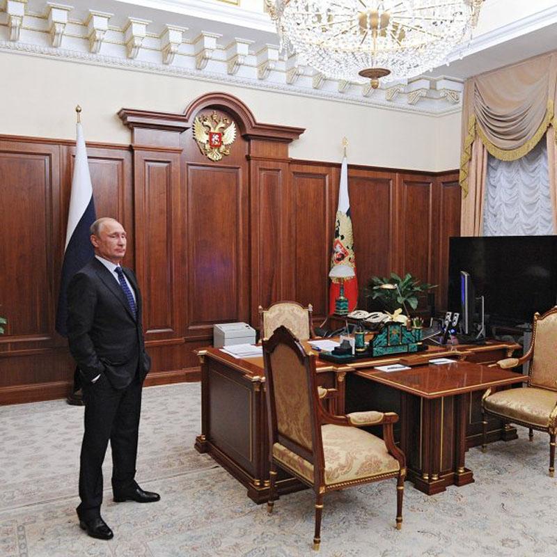Кабинеты Кремля – есть ли трон у Президента РФ?