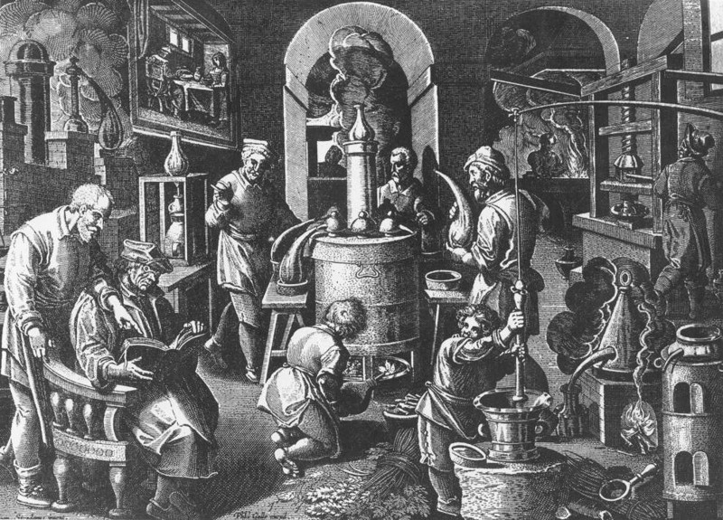 an introduction to the history of alchemy the ancient art in the middle ages