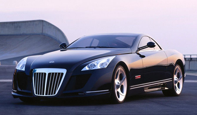 «Maybach Exelero» авто, факты