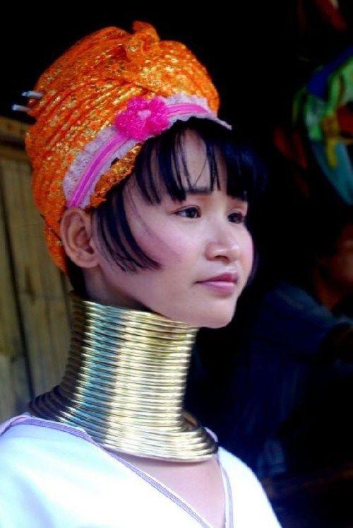 6. Женщины племени Падаунг женщины, необычное, факты