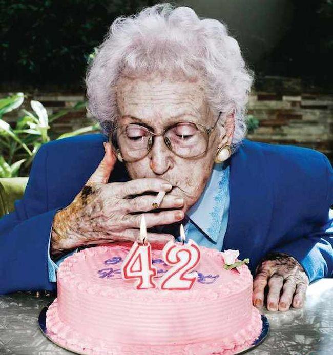 картинки старых бабок о вреде курения