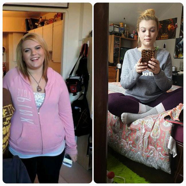 Преображение девушек до и после похудения видео