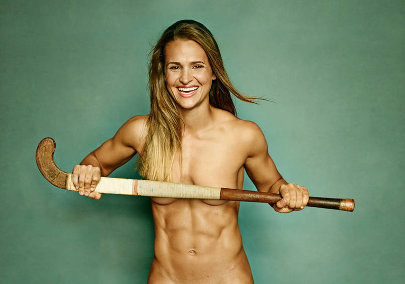 Here Are The Lovely And Naked Female Athletes From ESPN.