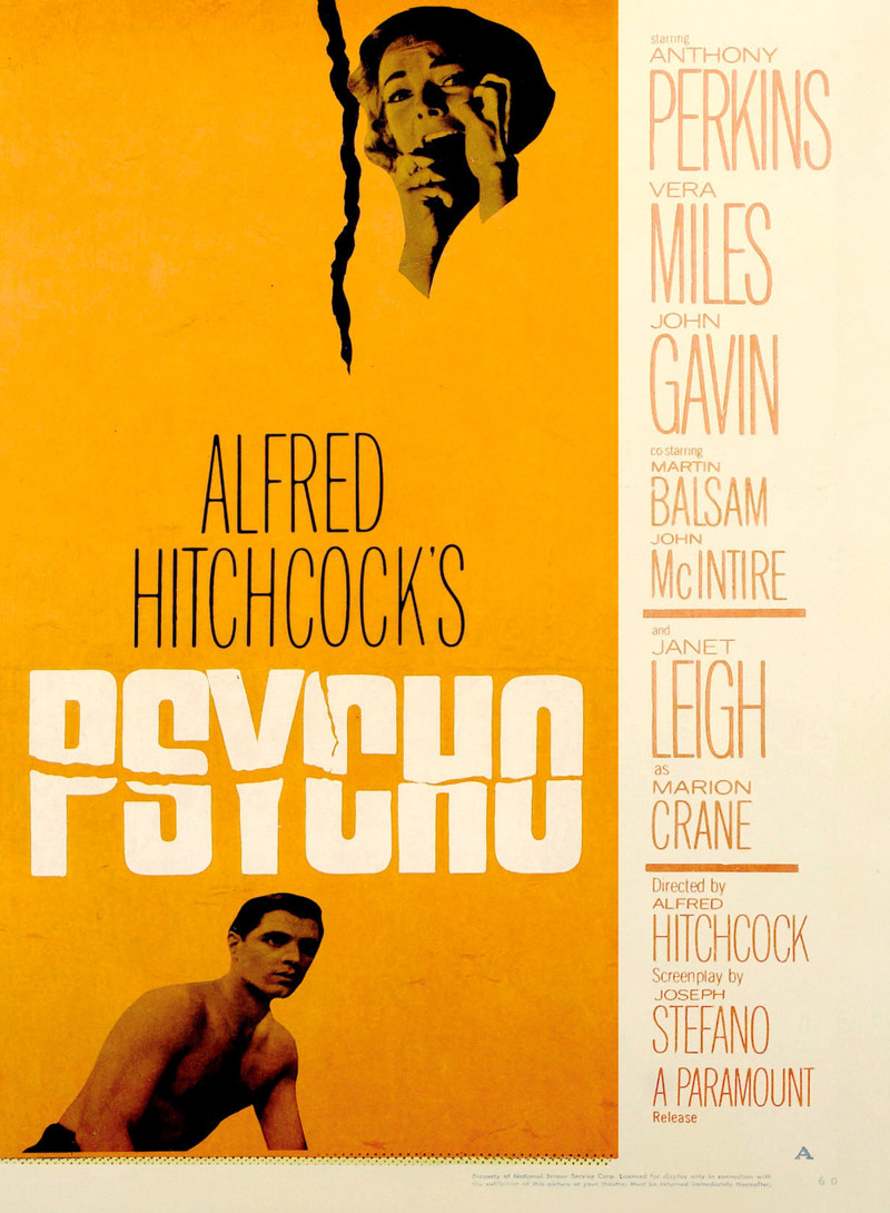 an analysis of marion and norman in psycho by alfred hitchcock