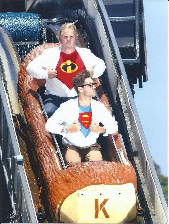 2. Супергерои спешат на помощь атракцион, люди, фото