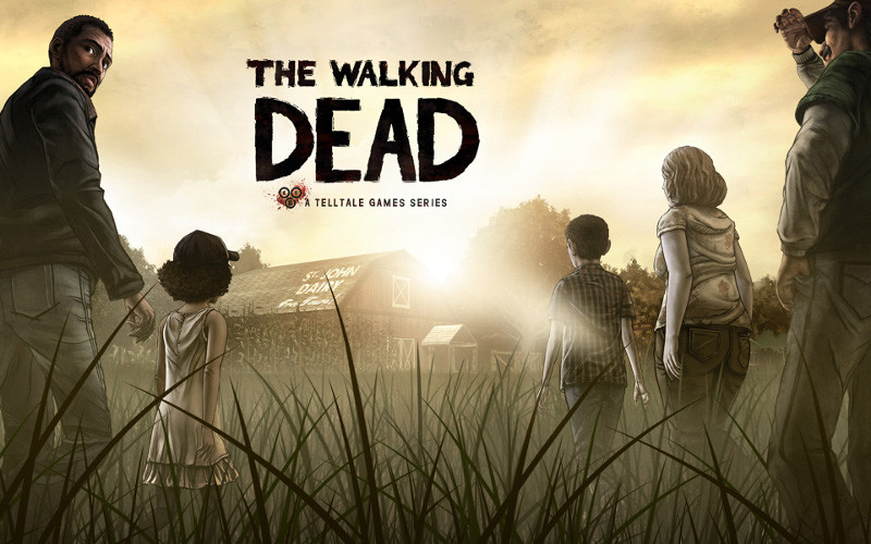 The Walking Dead: The Game зомби, игры
