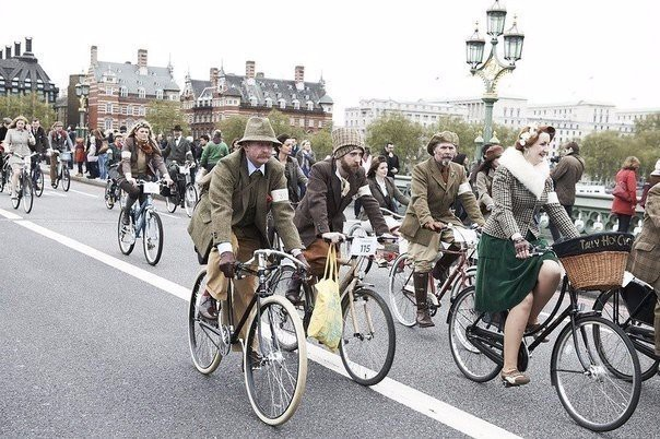 Tweed Run история, факты