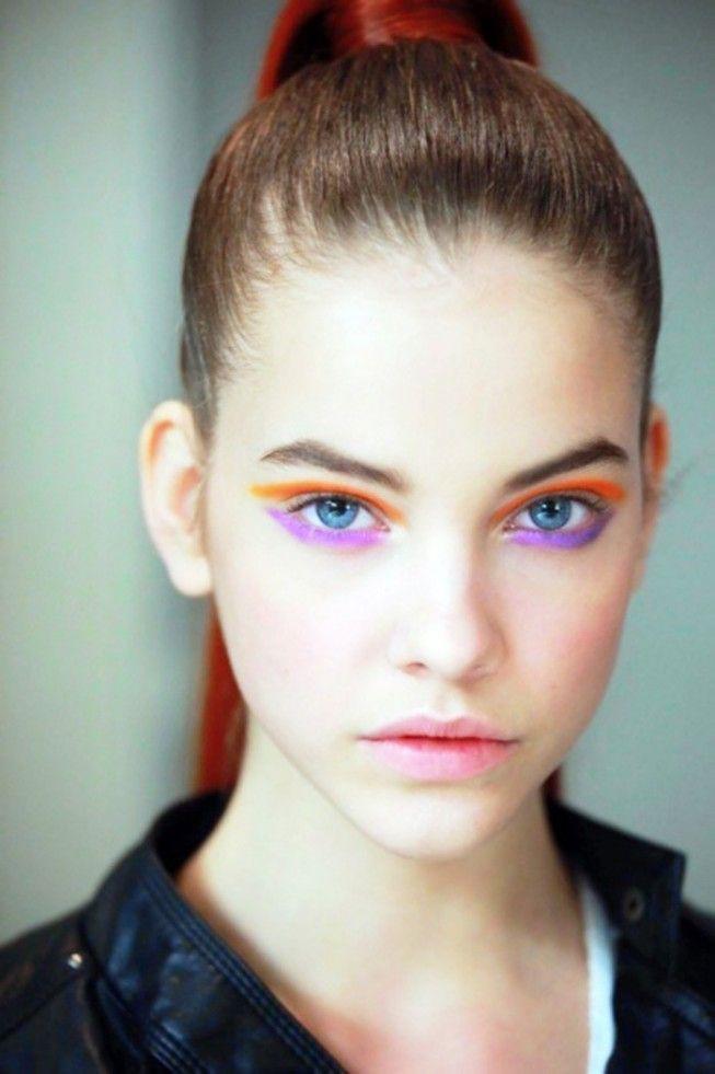 4. Правильно расставляйте акценты девушки, макияж